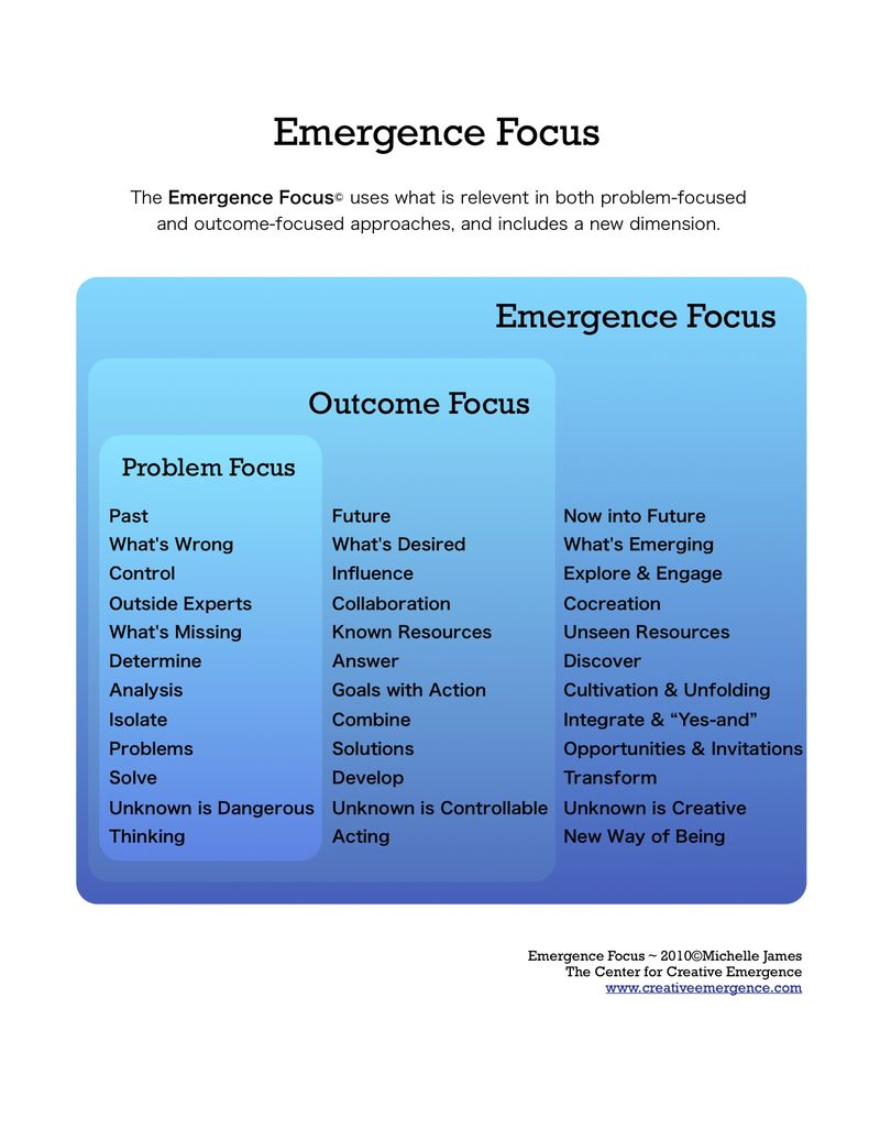 Emergence Focus
